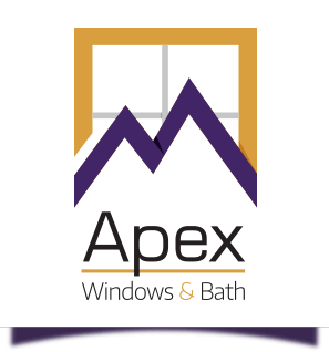 apex windows and bath illustrated logo